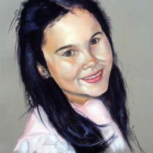 Retrato Pastel.Carolina