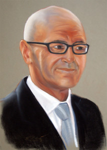 Retrato Pastel. 50x32 cm.