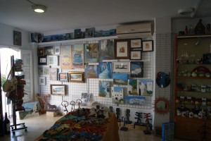 Muestra permanente de Arte Plastico. Sala DE AROMAS